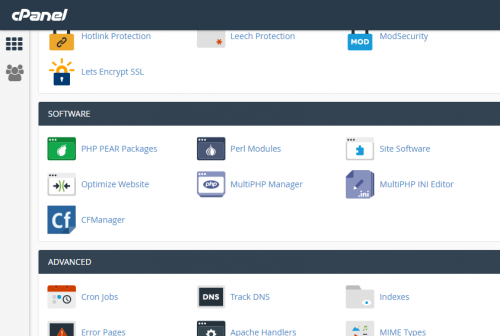 ColdFusion Datasource Name manager for cPanel